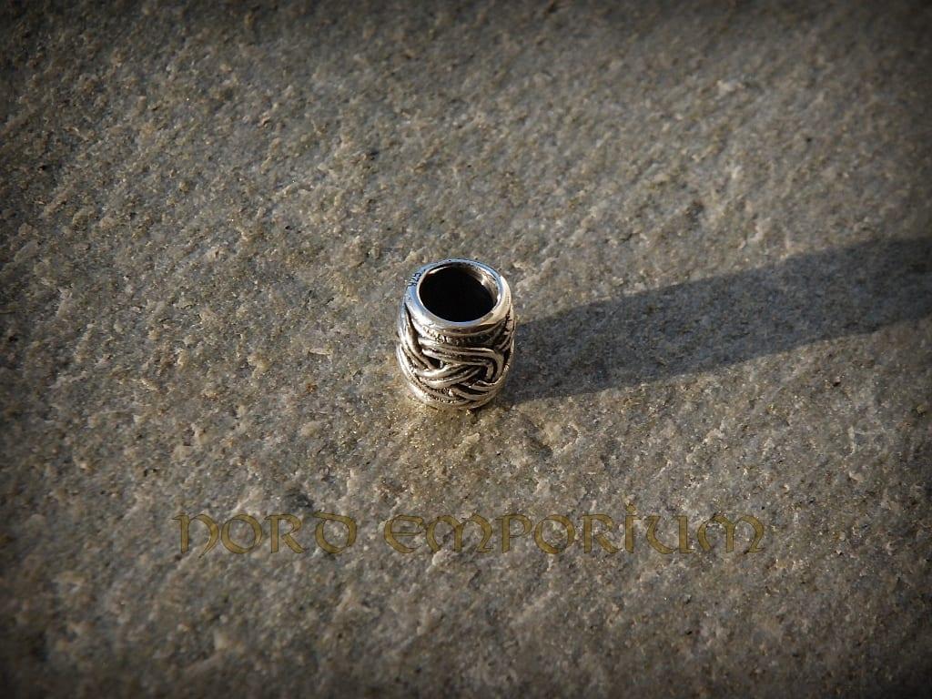 Viking Beard Beads 6mm Sterling Silver Nord Emporium
