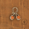 Orange Aventurine Earrings