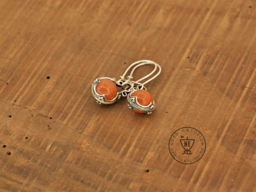 Orange Aventurine Earrings