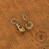 Honey Milk Amber Earrings
