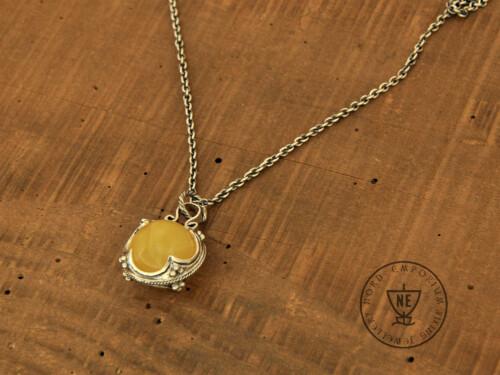 Lemon Amber Necklace
