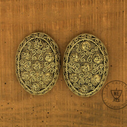 Oval Brooches